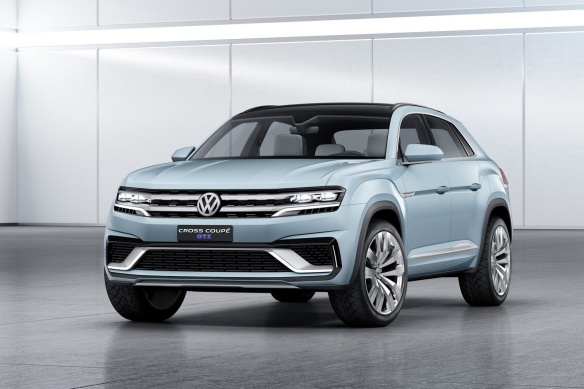 Volkswagen Cross Coupe GTE Concept 1